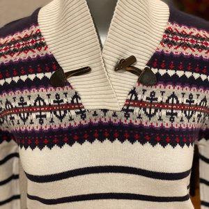 2/$15 Nautica 10/12 Girl Sweater Dress